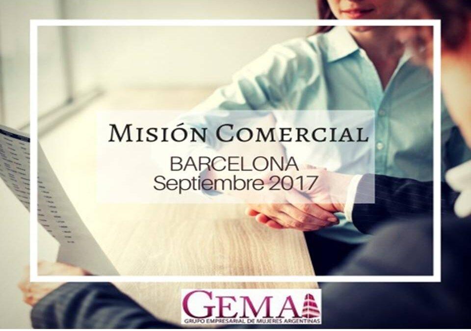 Misión Comercial de GEMA a Barcelona (18 al 22 de Septiembre)